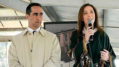 El intendente de Morón, Ramiro Tagliaferro