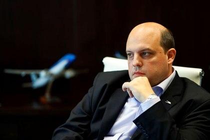 El presidente de Aerolíneas Argentinas, Pablo Ceriani (REUTERS/Agustin Marcarian)