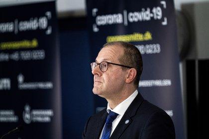 El director regional para Europa de la Organización Mundial de la Salud (OMS), Hans Kluge. EFE/EPA/IDA GULDBAEK ARENTSEN