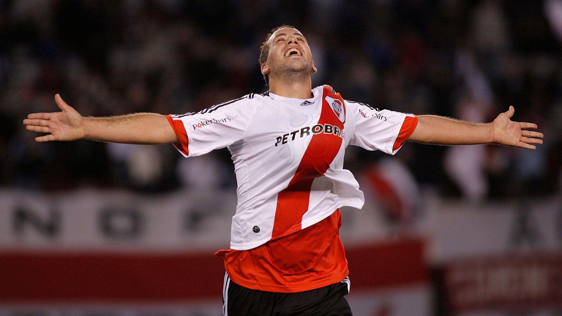 Convirtió tres goles oficiales en su paso por Núñez (NA)