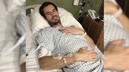 Andy Murray se sometió a una cirugía de cadera tras caer en primera ronda en el Austalian Open
