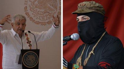 El mandatario mexicano insistió en que el EZLN debe dejar las divisiones atrás y atender su llamado a la unidad (Foto: Especial/ Cuartoscuro)
