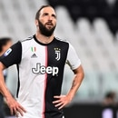 Soccer Football - Serie A - Juventus v Sampdoria - Allianz Stadium, Turin, Italy - July 26, 2020 Juventus' Gonzalo Higuain reacts during the match, as play resumes behind closed doors following the outbreak of the coronavirus disease (COVID-19) REUTERS/Massimo Pinca
