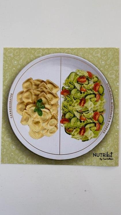 Servirse un único plato y mantener el orden, dos consejos claves para bajar de peso