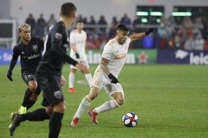 El ex San Lorenzo Héctor Tito Villalba es el argentino que más camisetas vendió esta temporada en la MLS (Geoff Burke-USA TODAY Sports)