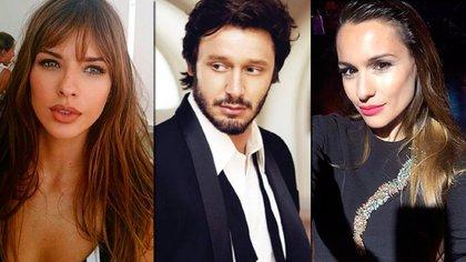 ¿Triángulo amoroso? Eugenia Suárez, Benjamín Vicuña y Pampita