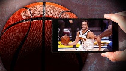 El furor de ver a Campazzo en la NBA (Infobae-Mariano Llanes)