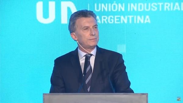 Macri cerró la 24 conferencia de la UIA en Parque Norte
