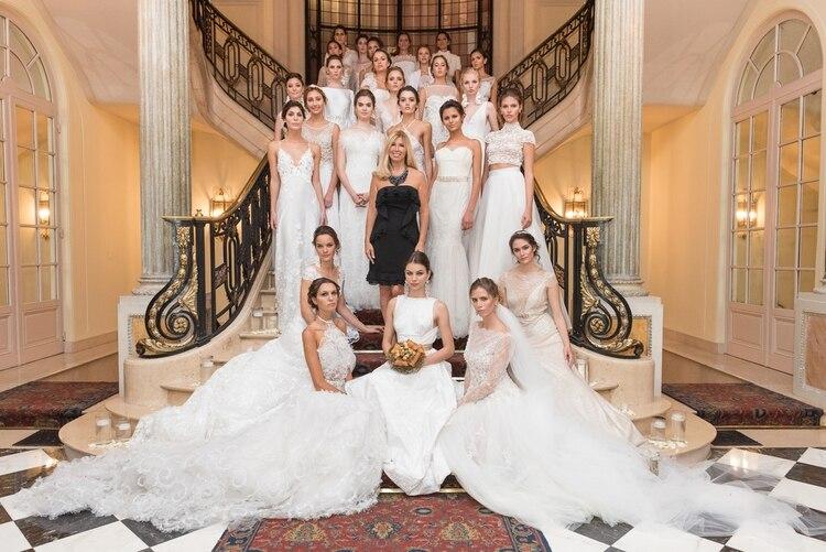 alta costura, glam y estilo, en un cautivante desfile de vestidos de