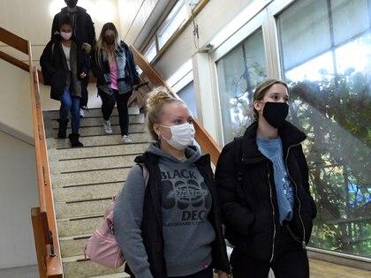 Escuela secundaria en Berlín, Alemania.  REUTERS/Annegret Hilse