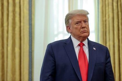 El presidente de Estados Unidos, Donald Trump.  REUTERS/Jonathan Ernst/File Photo