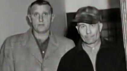 "Ed, tras ser detenido (Documental ""The Real Leatherface"")"