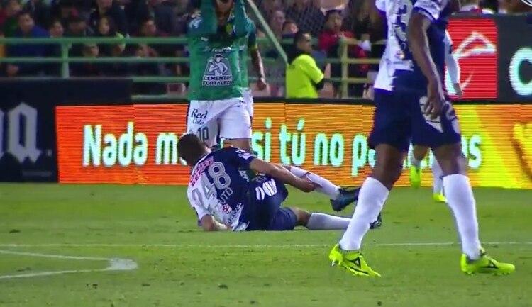 La escalofriante lesión que sufrió Emanuel Pizzuto durante su debut en la Liga MX
