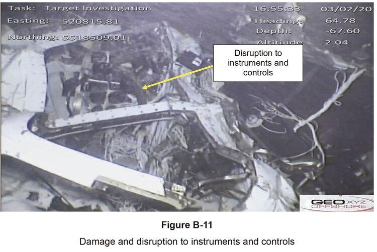 Daño e interrupción de instrumentos y controles, explican en el informe