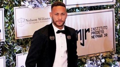 Neymar estuvo en la gala benéfica delInstituto Proyecto Neymar Jr, su fundación(REUTERS)
