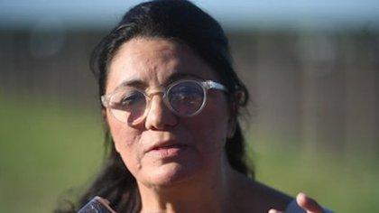 Dolores Etchevehere, hermana del ex Ministro, fue una de las personas que lideró la toma del predio