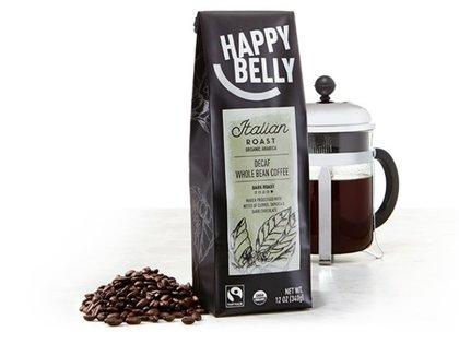 El café Happy Belly, marca de Amazon
