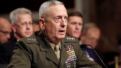 El general James Mattis, favorito de Donald Trump para conducir el Pentágono (Reuters)