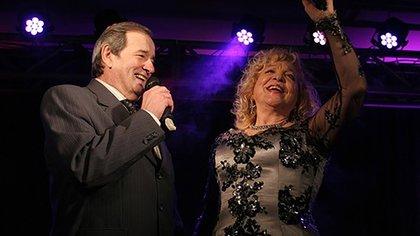 Néstor Fabián y Violeta Rivas, compañeros en el escenario