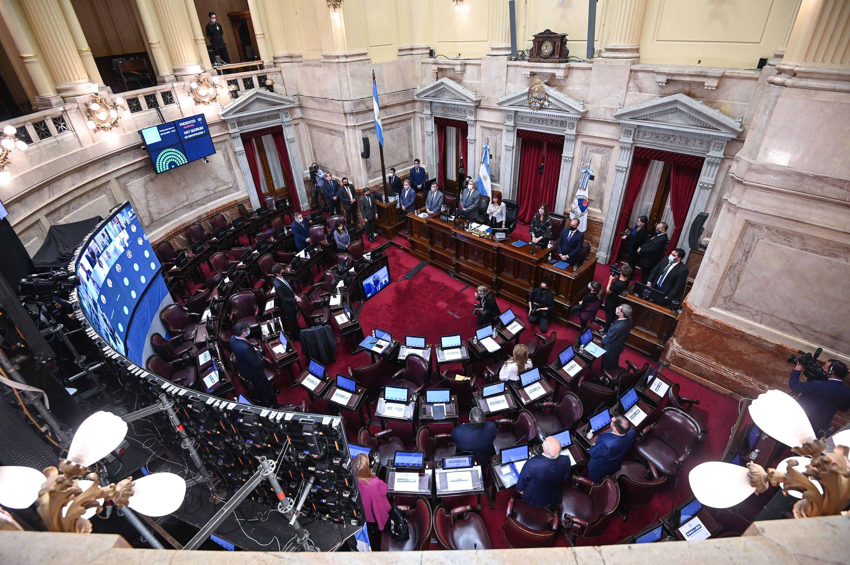 Sesión remota Senado de la Nación