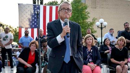 Mike DeWine, gobernador de Ohio. REUTERS/Bryan Woolston