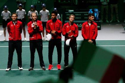 Canada ya está en los cuartos de final de la Copa Davis (Reuters)