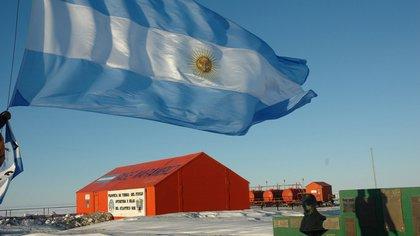 Imagen de la base Marambio (DyN)