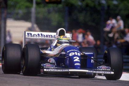 Senna en Williams en 1994, el equipo donde quiso correr en 1993 (REUTERS/File photo).