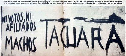 """El Movimiento Nacionalista Tacuara editó un folleto de 32 páginas titulado El caso Sirota y el problema judío en la Argentina, que se vendió en los kioscos. En esa publicación se afirmaba que el caso Sirota había sido fabricado por la colectividad judía con la finalidad de """"conseguir una coraza protectora"""""""