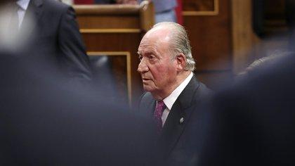 El rey emérito Juan Carlos (EFE/Zipi)