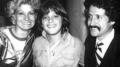 Luis Miguel y sus padres, en tiempos felices