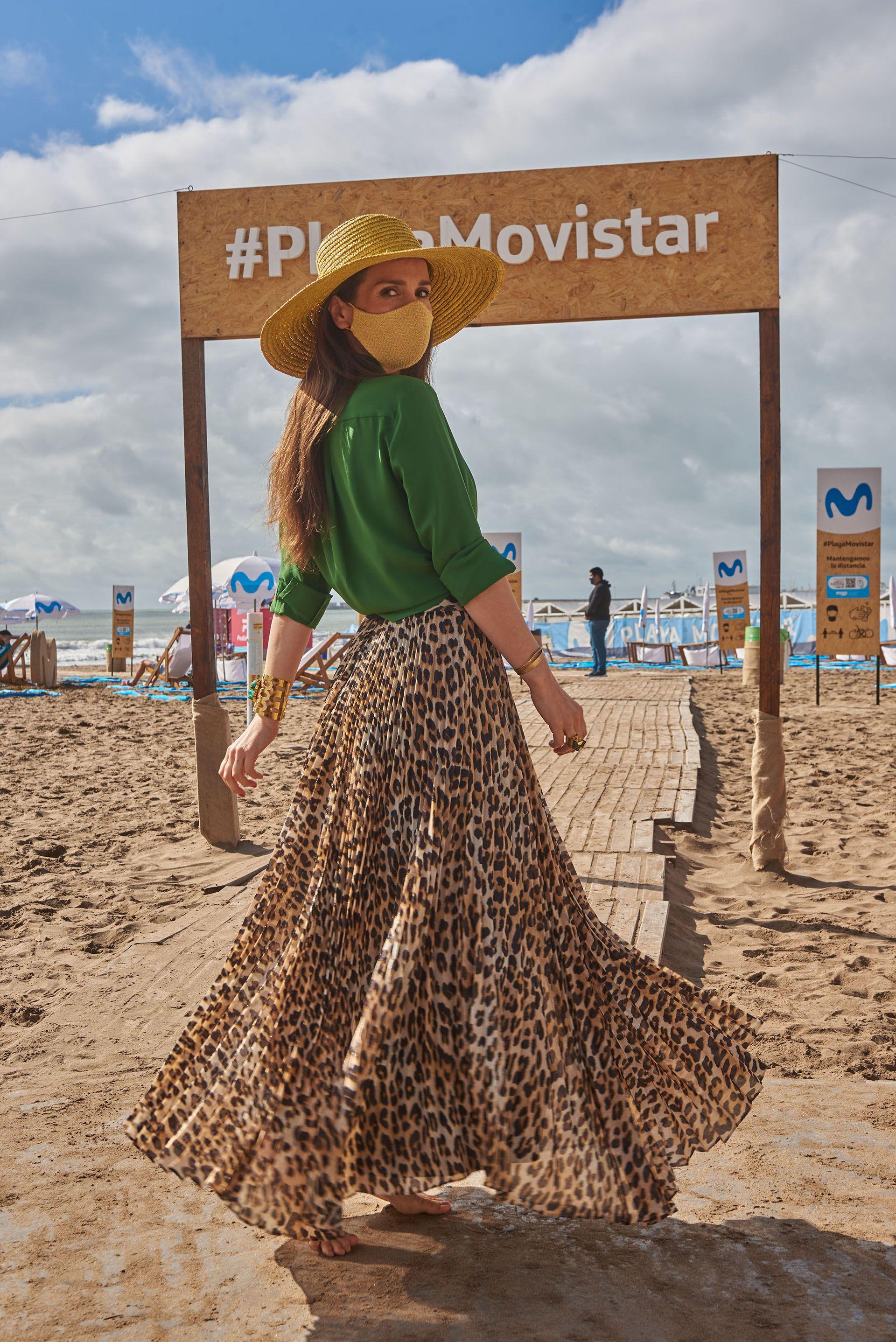 Natalia Oreiro Playa Grande Mar del Plata