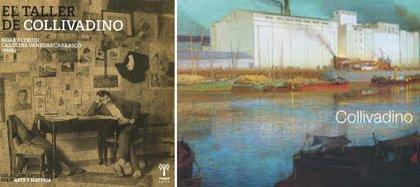 """Libros: """"El taller de Collivadino"""" (UNSAM, 2019) y """"Collivadino"""" (El Ateneo, 2006)"""