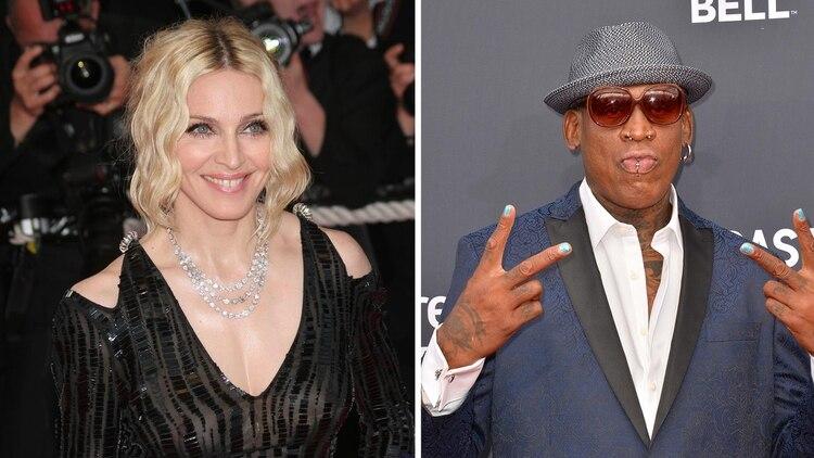 Madonna quería que Rodman fuera el padre de su hijo.