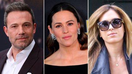 Ben Affleck, Jennifer Garner y Christine Ouzonian