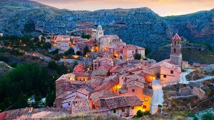 En Aragón se encuentra la localidad de Albarracín rodeada de murallas (Getty Images)