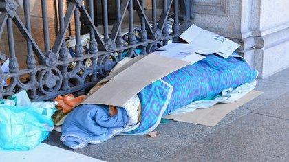 Más de 4.000 personas no tienen techo donde dormir en la Ciudad de Buenos Aires (Shutterstock)
