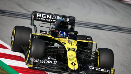 The car used by Renault in 2020 (Europa Press)