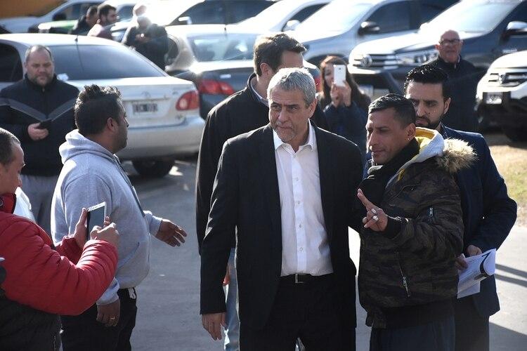 El intendente de Avellaneda, Jorge Ferraresi