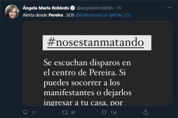 Angela María Robledo