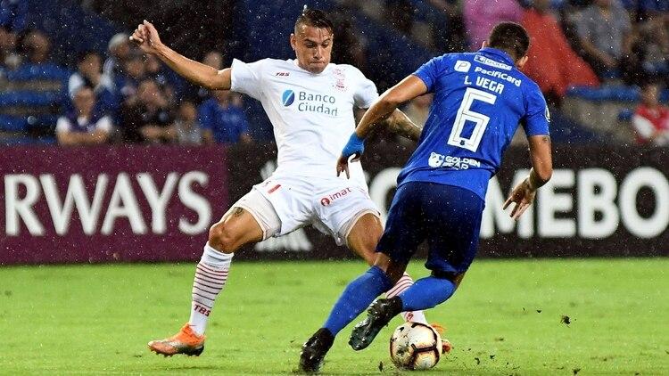 Huracán marcha último en su zona de la Copa Libertadores con un punto (EFE)