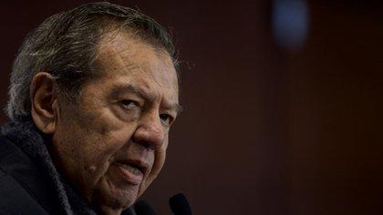 """Porfirio Muñoz Ledo dijo que los señalamientos se deben comprobar y """"si hay alguien que ha fallado, pues que se vaya a la cárcel""""."""