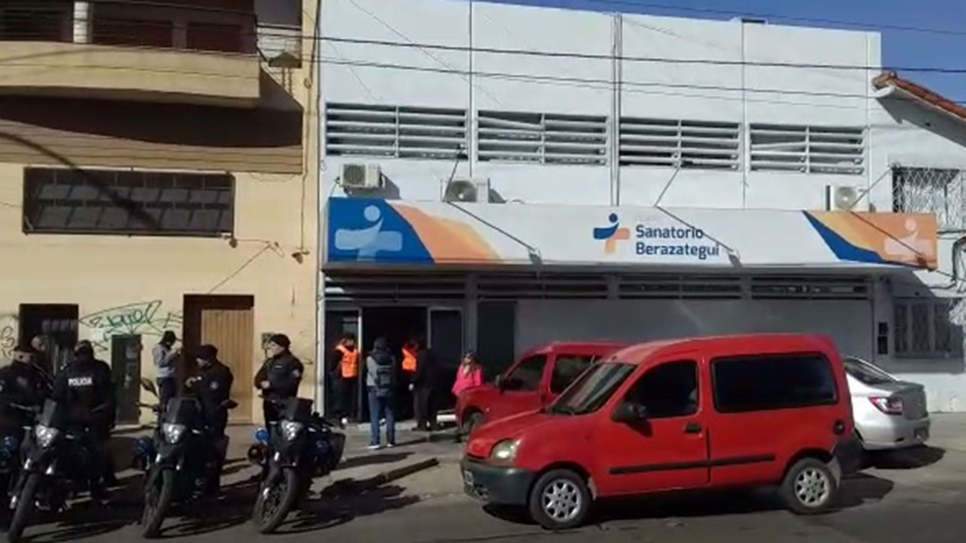 El Sanatorio Berazategui.