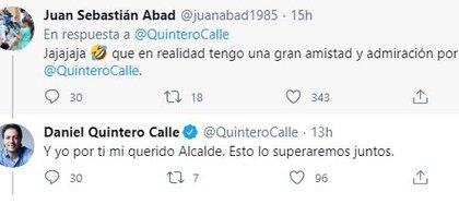 Polémica Quintero en Twitter