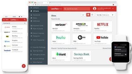 El gestor de contraseñas, LastPass, dejará de ser multiplataforma en su opción gratuita