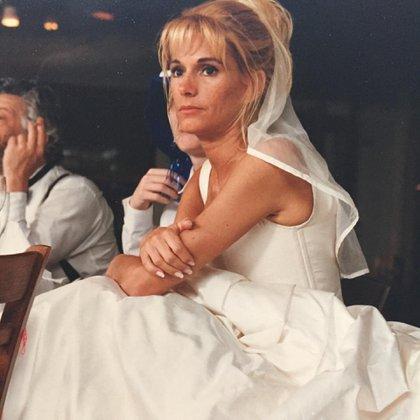 Cuando abre el baúl de los recuerdos, Yanina Latorre suele compartir en sus redes sociales fotos de su casamiento (Instagram)