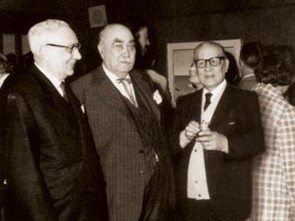 Emilio Poblet hijo y Arturo Jauretche