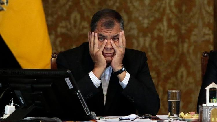 La Justicia de Ecuador ordenó la prisión preventiva del ex presidente Rafael Correa, investigado por sobornos