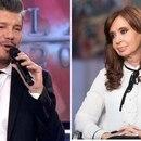 Marcelo Tinelli y Cristina Kirchner