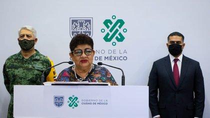 Ernestina Godoy, fiscal de la CDMX, presentó una denuncia por trata de mujeres contra Cuauhtémoc Gutiérrez (Foto: CDMX)